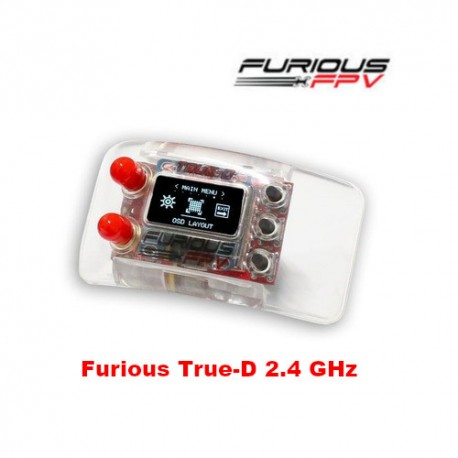 Furious True-D 2.4 GHz Diversity Receiver System - Clarity Redefined