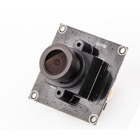 ELGAE NTSC FOV127 800TVL CCD camera with FPV RTU cable