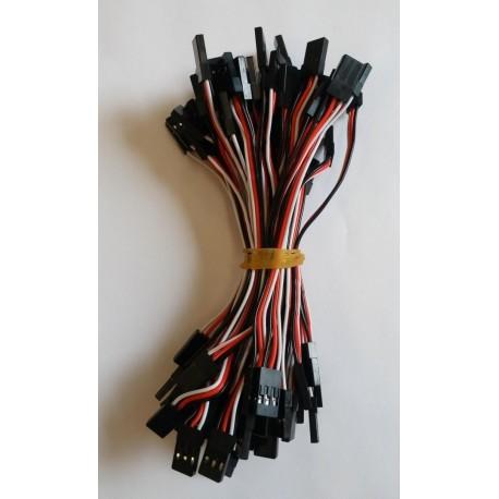 Servo cable 10 cm - JR