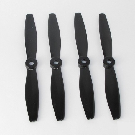 A set of GEMFAN BULLNOSE 2CW2CCW 6040 BLACK propellers