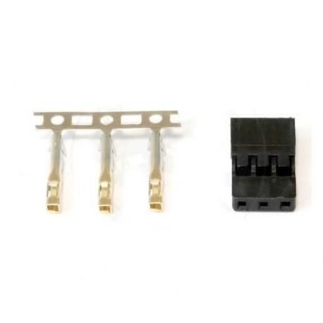 3-pin JR / Graupner / Hitec - servo plug