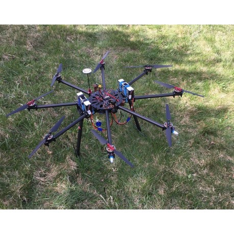 Octocopter CP - G10 22mm Frame Drone