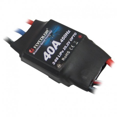 ESC FlyColor 40A 2-6S OPTO rev counter