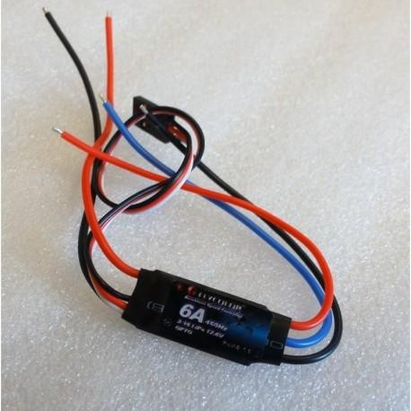 ESC FlyColor 6A 2-3S OPTO rev counter