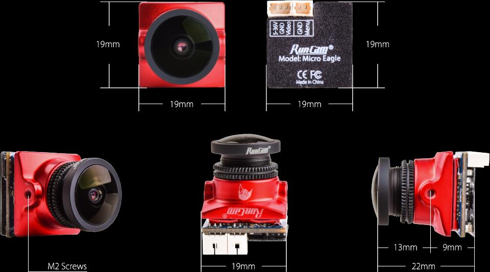 RunCam Micro Eagle - size